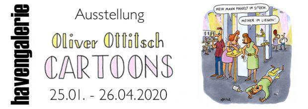 Ausstellungsbeginn Oliver Ottitsch mit Signierstunde am 25.01. von 11:00 – 12:30 Uhr