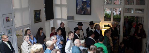 Bild von der Ausstellungseröffnung havengalerie 2017