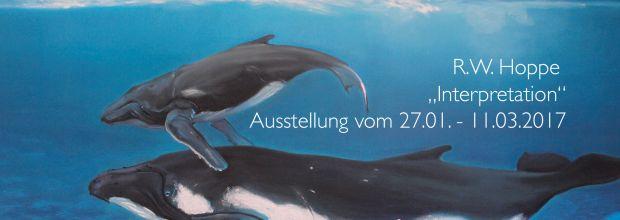 Bild zeigt Wale von R.W.Hoppe