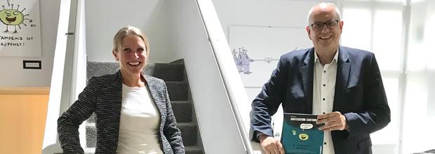 Bürgermeister Dr. Andreas Bovenschulte in der havengalerie